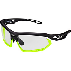 Rudy Project Fotonyk Glasses Matte Black/Lime ImpactX Photochromic 2 Black